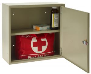 First Aid Cabinet | Secure Key Lock