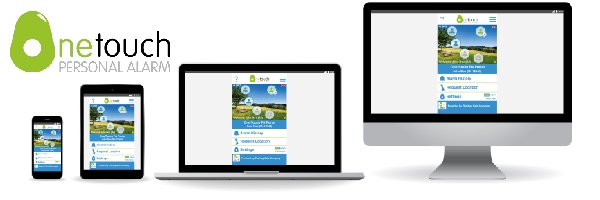 Onetouch Portal shown on different devices